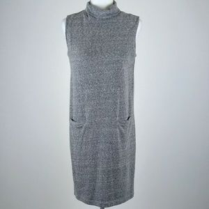 Kenar gray short sleeveless sweater dress medium
